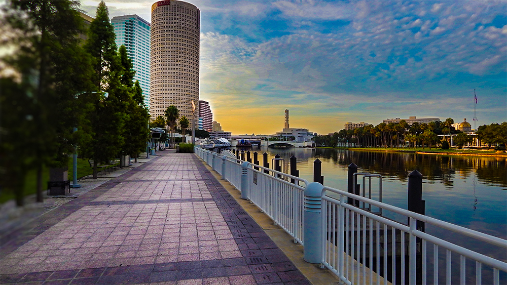 Tampa-Riverwalk
